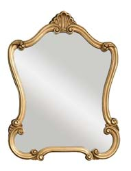Uttermost 08340 Walton Hall Gold Mirror
